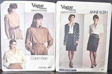 NIP 2 Lot Vogue Paris,American Women's Dior,Klein Sew Patterns,Sz 16,Apparel