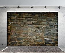 Vintage Shabby Stone Photography Backdrop Background Studio Props 7x5Ft