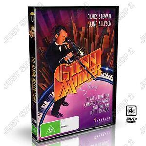 The Glenn Miller Story DVD : (1954 ) James Stewart Movie : Brand New