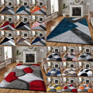 Non Slip Large Shaggy Rug Hallway Runner Living Room Rugs Bedroom Carpet Mat