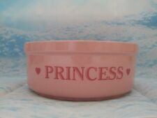 PET CERAMIC BOWL PINK PRINCESS
