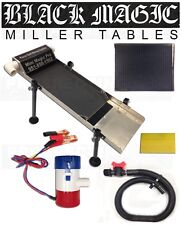 MINI BLACK MAGIC PRO MILLER TABLE + Vortex Mat Pull Out Tray + PUMP + SQUEEGEE