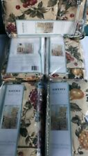 """5 WAVERLY Garden Room Floral """"Manor Fruit"""" Dining Room Chair Covers New"""
