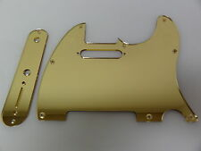 Tele Telecaster Gold Mirror pickguard set Fender