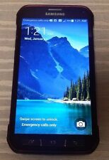 Samsung Galaxy S5 Active SM-G870A 16GB (AT&T Unlocked) GSM 4G Smartphone Red C