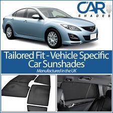Mazda 6 5dr 2008-12 UV coche ventana de cristal de privacidad Sun Persianas Persianas Tinte Negro