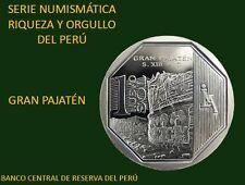 Gran Pajatén 1 Nuevo Sol 2011 Peru BU moneda