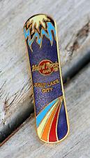 New Hard Rock Cafe Surf Blue Board Salt Lake City (Closed) Surfboard Pin