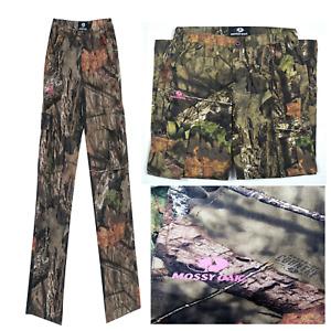 Mossy Oak Break-up Country Women's/Ladies Camo Cargo Pants Elastic Waist XL