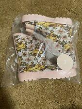 Sweet Honey -Whim & Wander -Youth Girl Rain Boots Secret Daisy -Size 3-Brand New