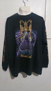 Dimmu Borgir stormblast long sleeve T shirt black metal cradle of filth emperor