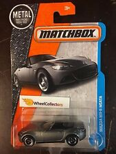 Mazda MX-5 Miata * Grey * 2017 Matchbox H Case