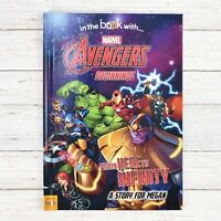 Personalised Photo Marvel Avengers Beginnings Book Softback Thor Black Widow