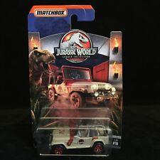 RARE 2018 Matchbox Jurassic Park World Legacy Collection '93 Jeep Ranger #18 NIB
