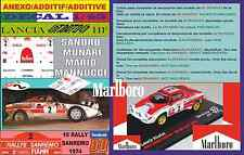 ANEXO DECAL 1/43 LANCIA STRATOS SANDRO MUNARI RALLY SANREMO 1974 WINNER (02)
