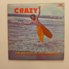 LP/ Crazy - Madness is gladness / Robin Imamshah, Ancil Perez Ford
