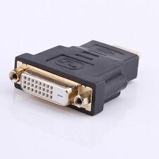 Wonderful Audio HDMI Male To DVI-D Female 24+1 DVI Cord Cable Converter AdapterA