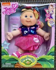 "JoJo Siwa Cabbage Patch Kids Doll 14"" Plush Bow Birth Certificate New"