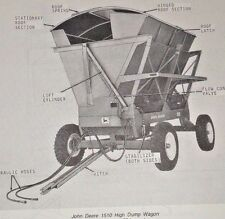 John Deere 1510 High Dump Wagon Parts Catalog Manual book Jd Original