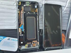 GENUINE SAMSUNG S8 PLUS G955 G955F Black LCD SERVICE PACK NEW SCREEN