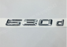 BMW E60 E61 5 Series GENUINE NEW 530d LABEL STICKER BADGE EMBLEM 7039787