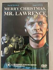 Merry Christmas Mr. Lawrence (DVD, 1982) David Bowie, Jack Thompson, Takeshi Kit