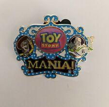 Disney Pin - Toy Story Mania! Logo - Buzz & Woody