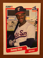 1990 Fleer Sammy Sosa Rookie Card #548 MINT - White Sox, Cubs Star