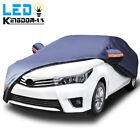 Universal Fit Car Cover Waterproof Rain Snow Heat Dust Resistant Auto Protection