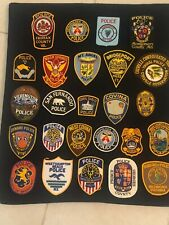 Police Patch Lot - 25 Police Only Patches