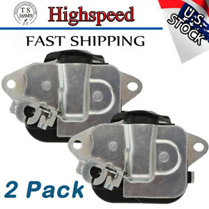 2* For 07-13 Chevrolet GMC Rear Door Extended Cab Lower Latch Lock 20995801⭐⭐