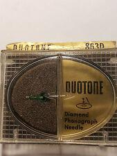 TURNTABLE NEEDLE DUOTONE 863D, REPLACES EUPHONICS E1,E2,E3