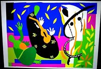 "Matisse signed lithograph "" Sorrow of Kings "" 1 of 200 from 2007"