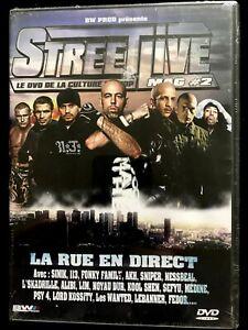 DVD - STEET LIVE - Sinik, 113, Sniper, Kool Shen, Médine, Psy 4 - NEUF EMBALLE