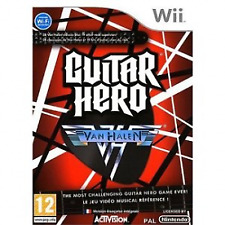 Nintendo Wii Guitar Hero Van Halen Solus (wii) VideoGames