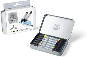 Winsor & Newton - Watercolour Markers - 6 Pack
