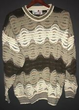 Vintage Florence Tricot Textured Sweater Size Large Notorious B.I.G. Style