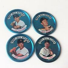 Baseball Coin Vtg Topps 1964 All Stars Lot 4 AL 121-124 Pepitone Stuart Lumpe