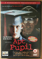Apt Pupil DVD 1998 Stephen King Nazi War Criminal in Suburbia Thriller