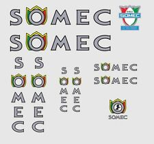 Somec Bicycle Decals, Transfers, Stickers n.3