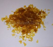 Blonde DeWaxed Shellac Flakes  Make Pale French Polish For Wood Furniture - 100g