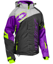 New Castle X Women's XL Code Purple/Charcoal/Silver Jacket