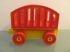 LEGO DUPLO @@ TRAIN @@ GARE @@ WAGON TRANSPORT MARCHANDISES 6