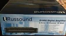 RUSSOUND D1650 Sixteen-Channel Eight Zone Digital Amplifier