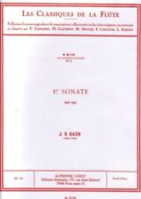 Les Classiques de la Flûte - No 1 - Sonate No 1 en Si mineur pour flûte BWV 1030