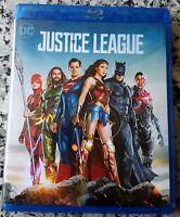 JUSTICE LEAGUE BLU RAY DC Ben Affleck Henry Cavill Jason Momoa Gal Gadot