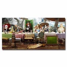 Alice In Wonderland 24x12inch Movie Silk Poster Hot Art Print Door Wall Decals