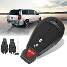 Remote Key Keyless Entry Fob Shell Case 3BTN For Dodge Grand Caravan Journey 08+