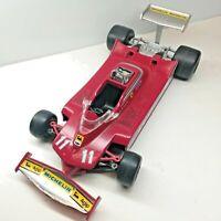 Vintage Polistil Ferrari 312T5 Jody Scheckter #11, FG7, 1/22 1979 Champ - NICE!