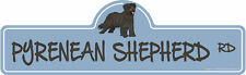 Pyrenean Shepherd Dog Decal | Dog Lover Decor Vinyl Sticker